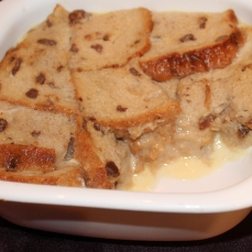 Raisin Bread Pudding