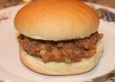 School Lunch Room Sloppy Joes