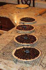 Blueberry Pies for Church Fair, June 2014