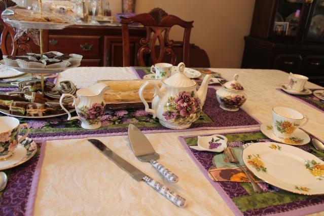 A Tea Tablescape 2014