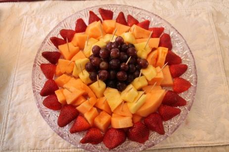 fruit plate fancy dish presentations angies open recipe box