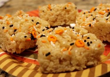 rice crispie squares