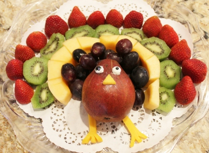Turkey Fruit Dish