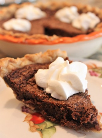 Easy Fudge Pie a la Paula Deen (2)
