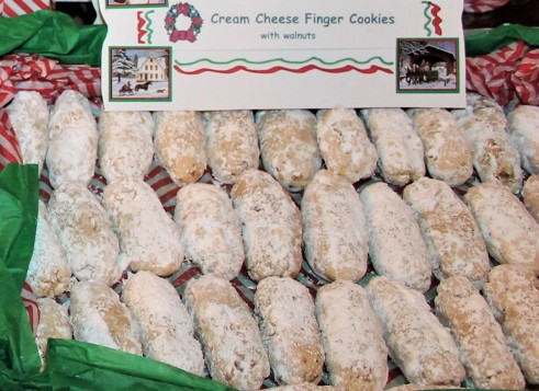 Cream Cheese Finger Cookies